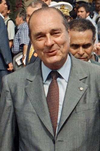 French regional elections, 1992 - Image: Jacques Chirac 1