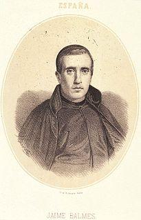 Jaime Balmes Spanish philosopher