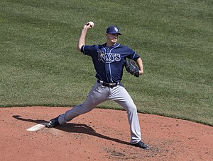 Jake Odorizzi - Odorizzi with the Tampa Bay Rays