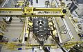 James Webb Space Telescope Mirror Halfway Complete (24050844075).jpg