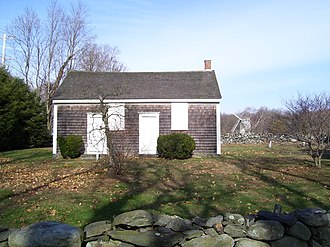 Friends Meetinghouse (Jamestown, Rhode Island) - Image: Jamestown Rhode Island Friends Meeting House 2