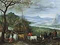 Jan brueghel i a landscape with herdsmen driving cattle to a village115308).jpg
