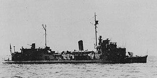 Japanese gunboat <i>Fushimi</i> (1939)
