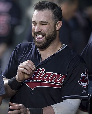 Jason Kipnis - Kipnis with the Cleveland Indians in 2017