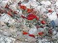 Jasper-quartz pebble conglomerate (Lorrain Formation, Paleoproterozoic, ~2.3 Ga; Ottertail Lake Northeast roadcut, near Bruce Mines, Ontario, Canada) 52 (33832251108).jpg