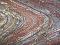 Jaspilite banded iron formation, Soudan Underground State Park.jpg