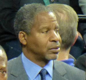 Jay Humphries - Humphries in 2014 as Brooklyn Nets assistant coach