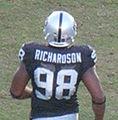 Jay Richardson at Falcons at Raiders 11-2-08.JPG