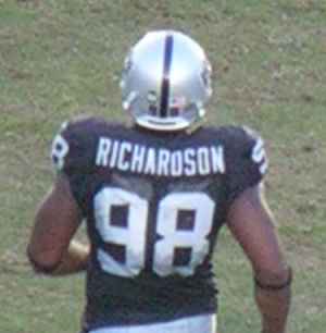 Jay Richardson at Falcons at Raiders 11-2-08.JPG