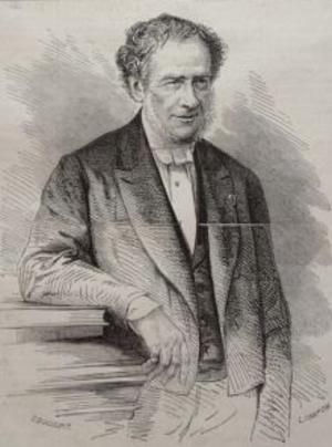 Jean-Baptiste Duvergier - Portrait from Le Monde Illustré of 24 July 1869