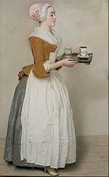 Jean-Étienne Liotard: Das Schokoladenmädchen