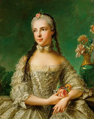 Princess Isabella of Parma - Portrait by Jean-Marc Nattier