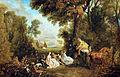 Jean Antoine Watteau, Le Rendezvous de chasse.jpg