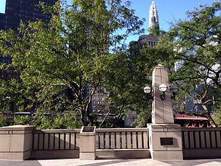 Jean Baptiste Point Du Sable Homesite National Historic Landmark in Chicago