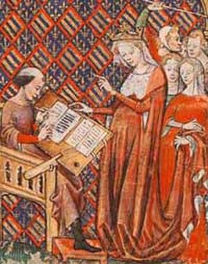 Joan the Lame - Image: Jeanne de Bourgogne et Jean de Vignay