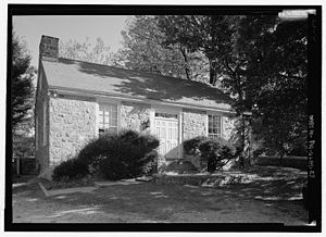 Plymouth Friends Meetinghouse - Image: Jeannes Library Plymouth Friends Meeting HABS213378pv