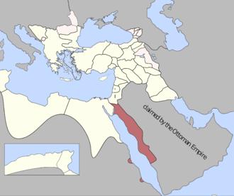 Habesh Eyalet - Image: Jeddah Eyalet, Ottoman Empire (1795)