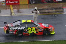 Gordon e la sua vettura #24 in una nel 2009