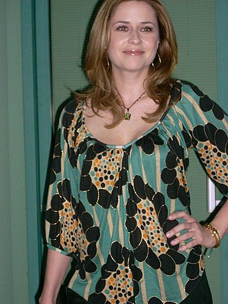 Jenna Fischer - Fischer at the Inside the Office panel discussion at the Academy of Television Arts & Sciences in 2009