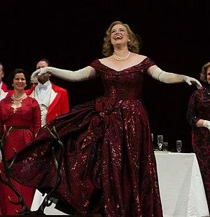 Jennifer Johnson Cano - Jennifer Johnson Cano at the Metropolitan Opera House in 2013