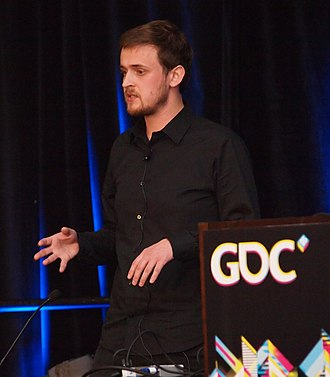 140 (video game) - Jeppe Carlsen at the 2011 Game Developers Conference
