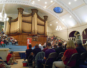 Jeremy Corbyn Labour Party leadership campaign, 2015 - A Corbyn rally at Nottingham Albert Hall