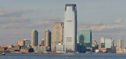 Skyline of Downtown Jersey City