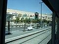 Jerusalem Pisgat Zeev Mall view from Light Rail.jpg