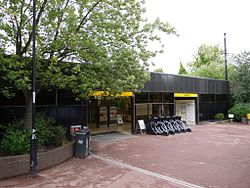 Jesmond Metro station, 9 August 2013 (1).jpg