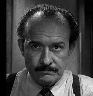 George Voskovec - Jiří Voskovec in 12 Angry Men (1957).