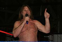James Duggan en 2009.