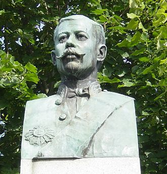 João Franco - The bust of João Franco, in Guimarães, in the square dedicated to the former Minister of the Kingdom