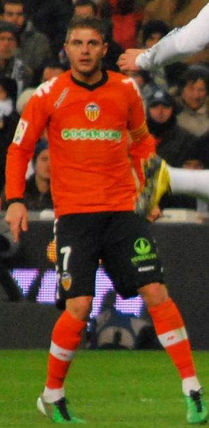 Joaquín (footballer) - Joaquín playing for Valencia in 2010.