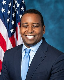 Joe Neguse, official portrait, 116th Congress.jpg