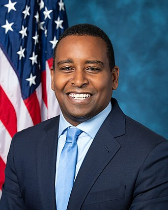 United States congressional delegations from Colorado - Image: Joe Neguse, official portrait, 116th Congress