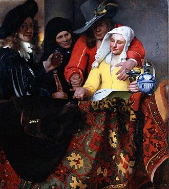 The Procuress (Vermeer) - Image: Johannes Vermeer The Procuress Google Art Project
