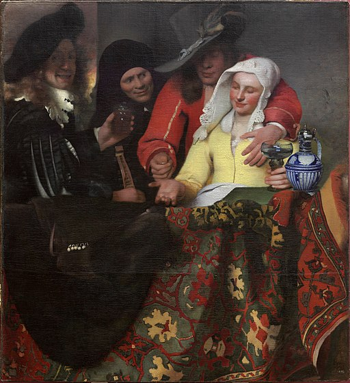 """The Procuress"" by Johannes Vermeer"
