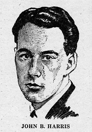 John Wyndham - Wyndham/Harris as pictured in the May 1931 Wonder Stories