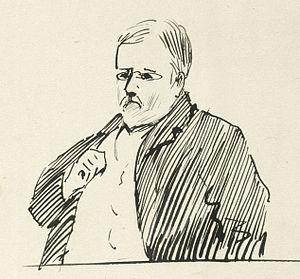 John Duthie (politician) - John Duthie caricature, 1896