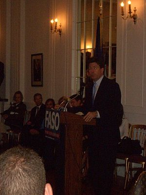 John Faso - Faso campaigning for governor in 2006