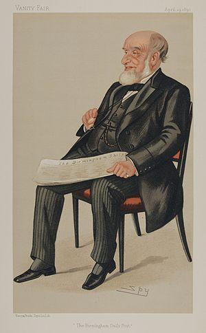 John Jaffray - Jaffray as caricatured by Spy (Leslie Ward) in Vanity Fair, April 1890