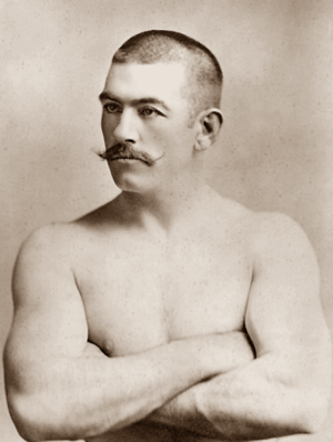 John L. Sullivan - Sullivan in his prime during the 1880s