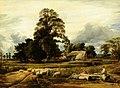 John Linnell (1792-1882) - Kingsey Village, near Thame, Oxfordshire - 290365 - National Trust.jpg