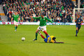 John O'Shea Ireland vs Colombia 2008.jpg