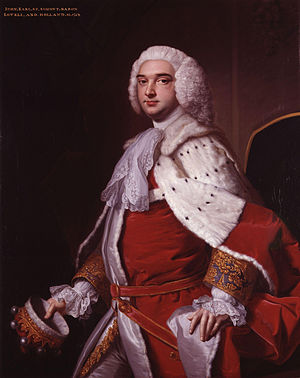 John Perceval, 2nd Earl of Egmont - John Perceval, 2nd Earl of Egmont
