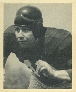 John Sanchez (American football) - Sanchez on a 1948 Bowman football card