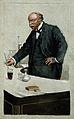 John William Strutt, 3rd Baron Rayleigh. Watercolour by F. T Wellcome V0004948.jpg