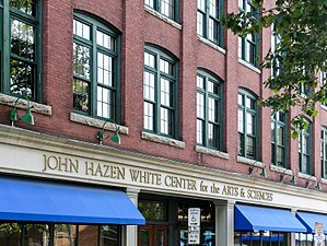 Johnson & Wales University - Image: Johnson & Wales University John Hazen White Center