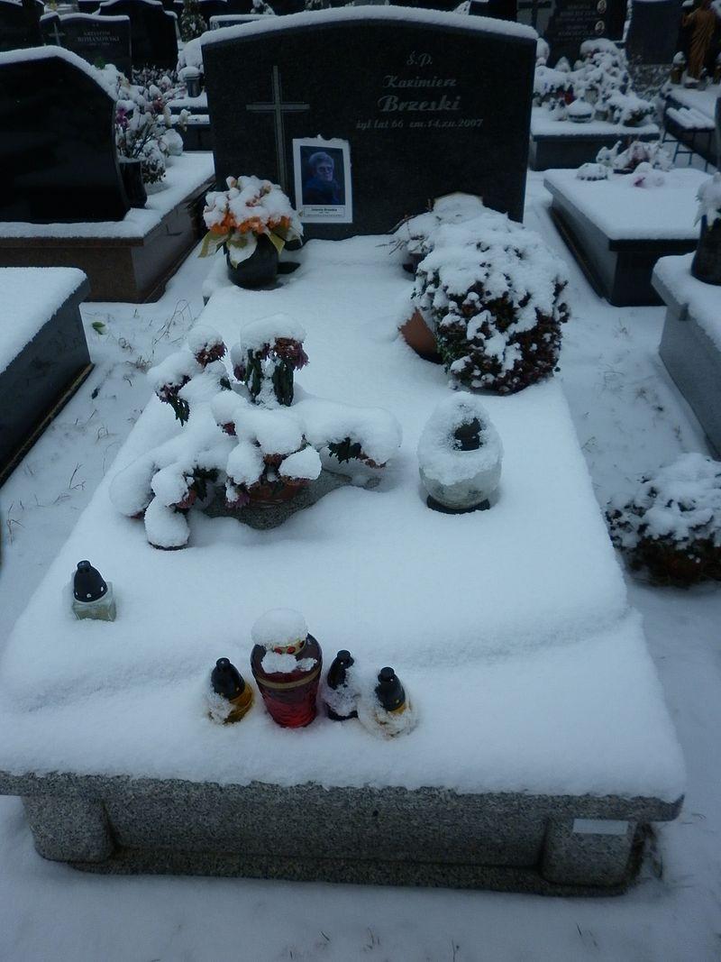 Jolanta Brzeska grób.JPG