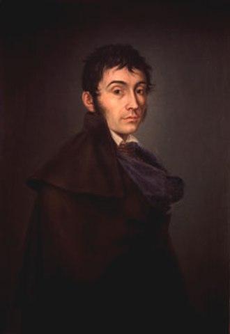 José Aparicio - José Aparicio (1820); probably a self-portrait